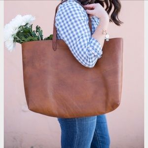 madewell • east west transport tote